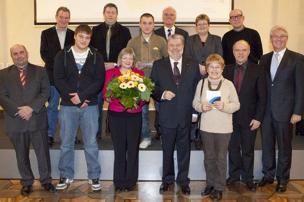 Verleihung Brückpreis 2012 an den VBS